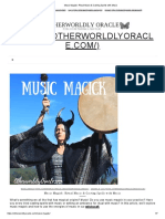 Music Magick_ Ritual Music & Casting Spells with Music
