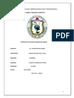 EVALUACION Y ANALISIS DEL SISTEMA DE AGUAS RESIDUALES DE VALLEGRANDE Y SU IMPACTO AMBIENTAL