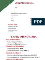 Teknik Imunokimia (1)