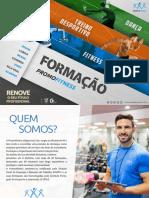 Catalogo Formação Promofitness