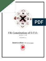 Ordo Templi Orientis Constitution