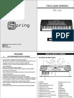 Manual Teclado Tc 161