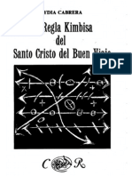 43238759 La Regla Kimbisa Del Santo Cristo Del Buen Viaje Lydia Cabrera