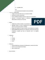 Análisis de Alimentos cárnicos Colombia