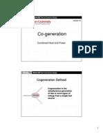Lec 10 -  Cogeneration