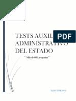 Tests Auxiliar Administrativo Del Estado