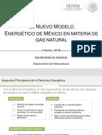 Gas natural en la Reforma Energética
