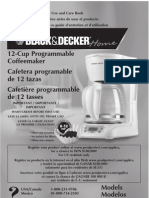 DLX1050W, New Coffee Maker Nov.-2010