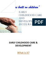 Early Childhood Care and Development
