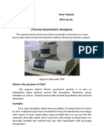 Thermo-Gravimetric Analysis _ Anas Yaqoob