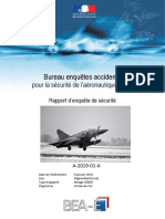 Le rapport du BEA sur le crash du Mirage 2000D de Nancy-Ochey