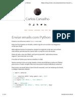 Enviar emails com python