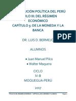 CONSTITUCIÓN POLÍTICA DEL PERÚ TÍTULO III 2019 UJCM