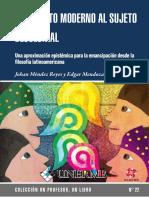 Del sujeto moderno al sujeto decolonial Johan Mendez Reyes Edgar Mendoza.pdf