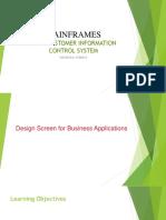 CICS-PPT-2-Design screens for Business Applications V1.1