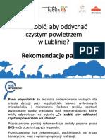 Prezentacja Rekomendacje Panelu Obywatelskiego