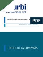 Reseña Urbi S.A. de C.V.