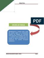 fases del modelo didactica