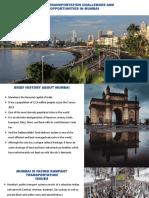 PUBLIC TRANSPORTATION CHALLENGES IN MUMBAI