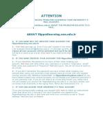 English Registration Information
