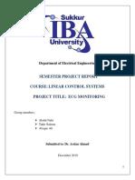 Semester Project Report