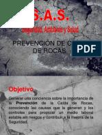 Prevencion de Caida de Rocas