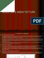 12- 2014 Architettura e Acustica 2 Senza Animazioni