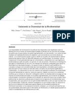 Valorando la Diversidad de la Biodiversidad.pdf