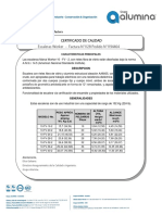 certificado escalera 10-fv-2 Ferroaluminios
