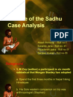 the parable sadhu case study The parable of the sadhu case analysis  the parable of the sadhu case study uploaded by ta thi thu van interest rates & swaps uploaded by rqmanan sexual.