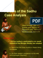 ethics parable of the sadhu Mr mccoy and his friend stephan had been preparing for over six years for an excursion and mountain climb in the himalayas near nepal thousands of.