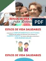 ESTILO DE VIDA SALUDABLE ADULTO MAYOR