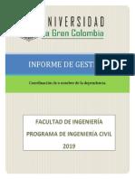 Formato Informe de gestión 2019
