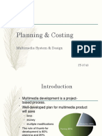 Ch 9 Planning and Costing