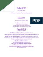 Life Changes Through GODs Word!