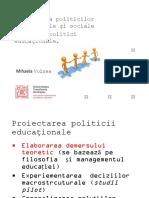 C3 Proiectarea politicilor