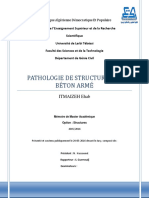 Pathologie de Structures en BA