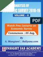 Baliyans.com-Economic Survey Volume 2-Summary.pdf