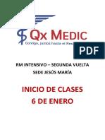INICIO DE CLASES JM