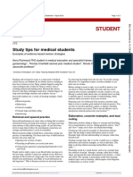 Study tips for medical students