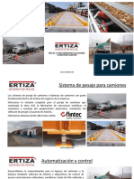 Presentacion Sistema Automatizado de pesaje de camiones