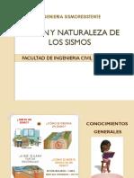 Origen y Naturaleza de Los Sismos..
