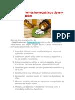 14 Mejores Remedios Homeopaticos