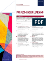 Oup Focus Project Based Learning