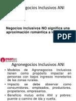 AGRONEGOCIOS INCLUSIVOS