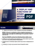 X - DISPLAY AND FUNTIONS OF OTHER NAVIGATIONAL INFORMATION