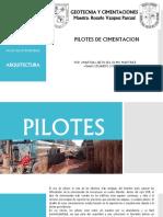 Fundaciones - Pilotes de Cimientacion