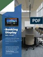 Folder A4 Booking Display Internet