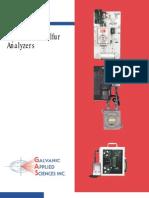 H2S & Total Sulfur Analyzers