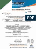 Certificados Apel
